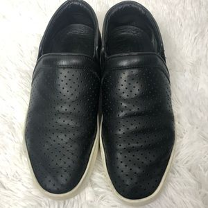 Rag & Bone Kent Perforated Leather Slip-On Shoes